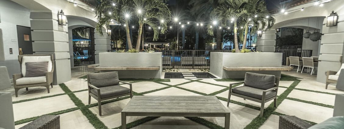 Seabourn Cove Outdoor Seating Area