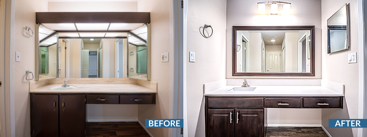 Cobble Creek Bathroom Before and After (1)