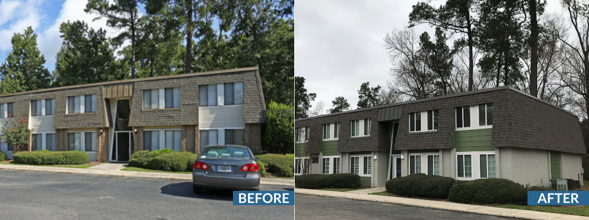 Icon Waverly Exterior Before and After Website Slider