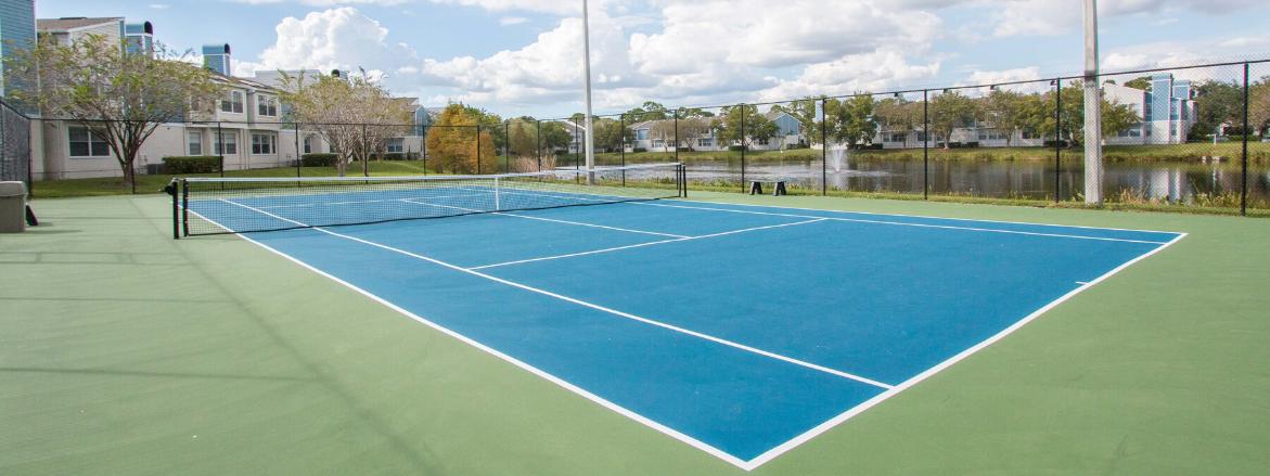Ashford at Feather Sound Tennis Court