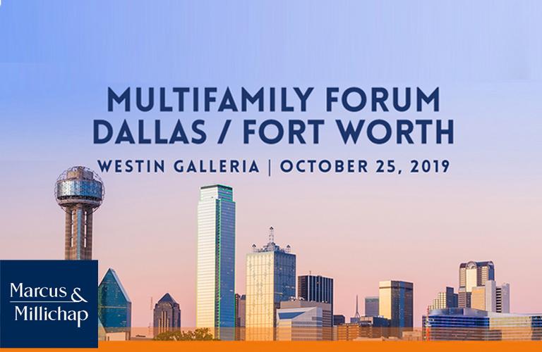 Marcus & Millichap Multifamily Forum Dallas / Fort Worth