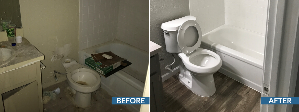 Prescott Woods Bathroom Before and After