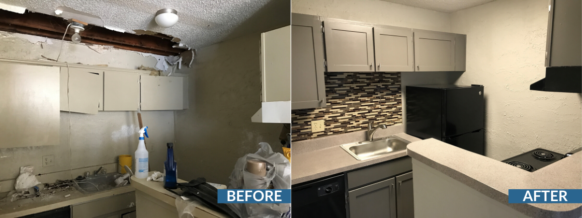 Prescott Woods Kitchen Before and After