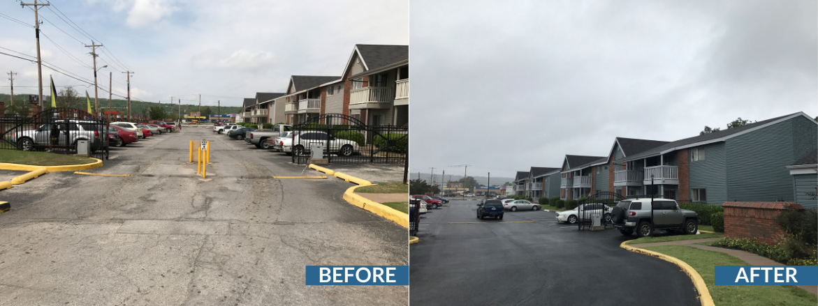 Prescott Woods Exterior Before and After