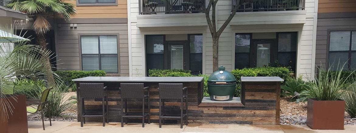 The Davis SoCo Outdoor Kitchen
